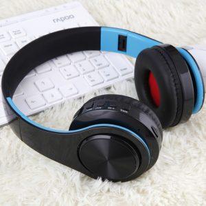 Tourya B7 Bluetooth Koptelefoon Oortelefoon Draadloze Hoofdtelefoon Met Microfoon Lage Bas headset koptelefoon Voor computer telefoon sport