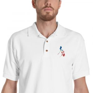 Philippines Embroidered Polo Shirt
